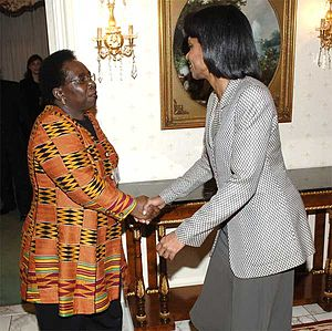Nkosazana Zuma, foreign minister of South Afri...