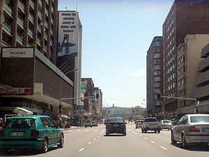 central city of Durban, South Africa