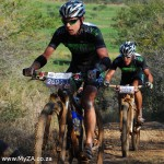 Evans and George Win Tough sani2c 2nd Stage