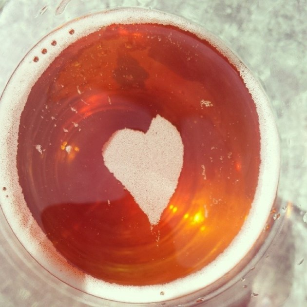 'BEER' MY VALENTINE