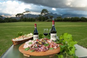 Shiraz & Charcuterie at Anthonij Rupert