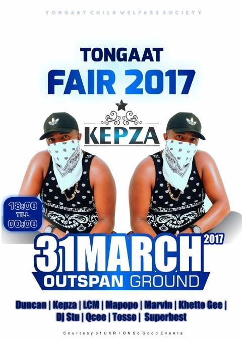 Tongaat Fair 2017