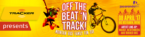 Jacaranda FM & Tracker Off the Beat 'n Track