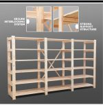 Rare Timber Shelving