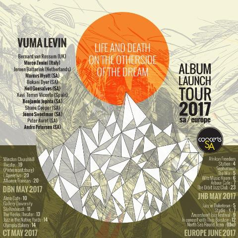 Guitarist Vuma Levin tours nationally his new jazz album