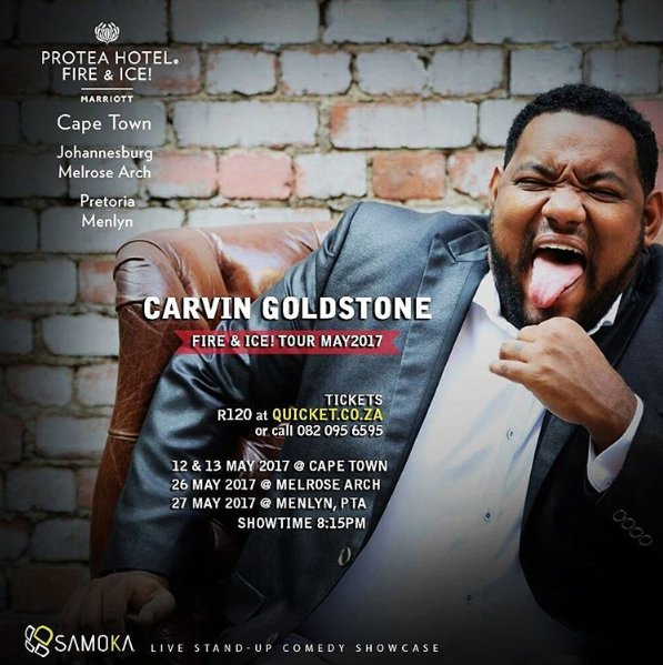 Carvin Goldstone's Fire & Ice Tour