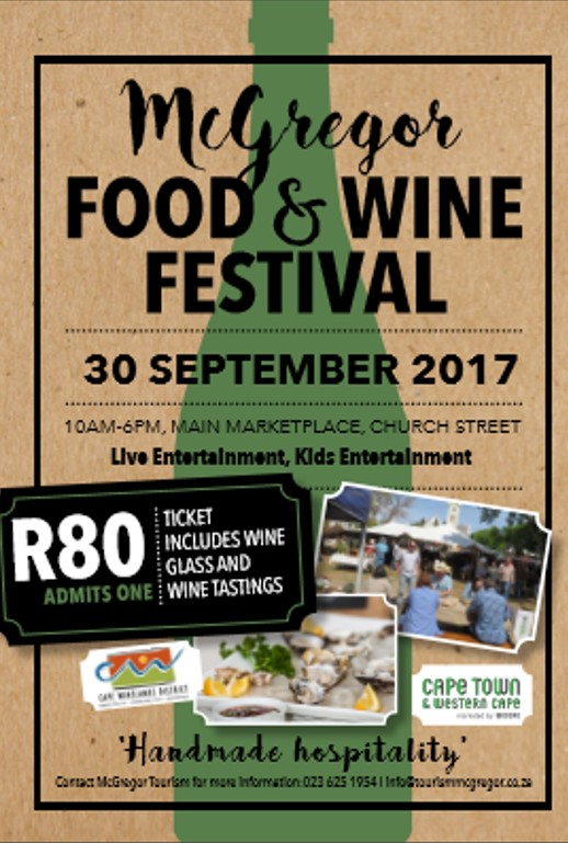 McGregor Food & Wine Festival