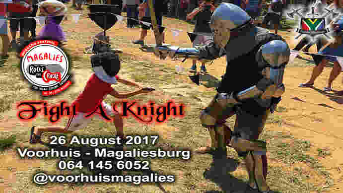 Fight-A-Knight at Magalies Rocks the Cradle Festival