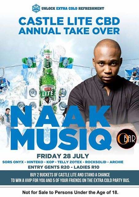 Castle Lite CBD Tour with Naakmusiq