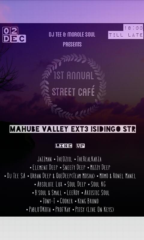 1st Annual Street Café