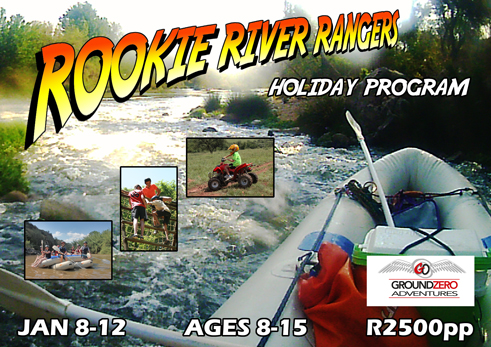 Rookie River Rangers Kids Holiday Program