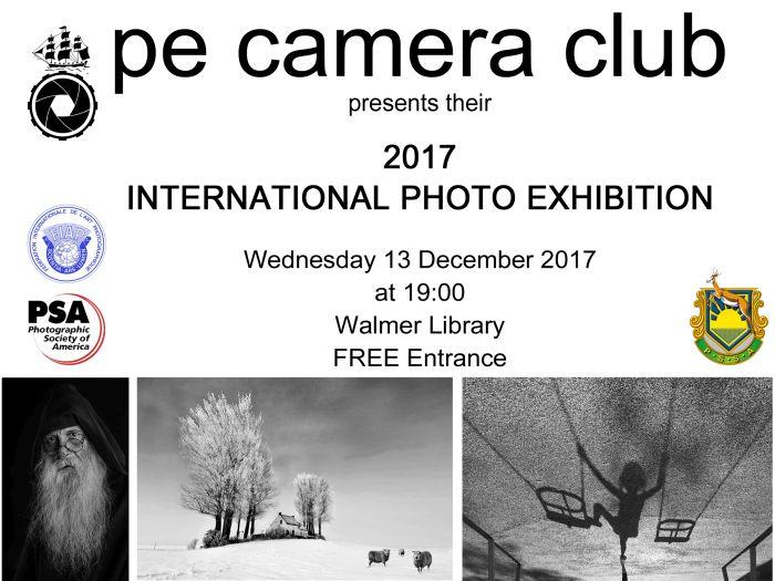 P E Camera Club 2017 International Photo Exhibition