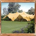 stretch tent decor