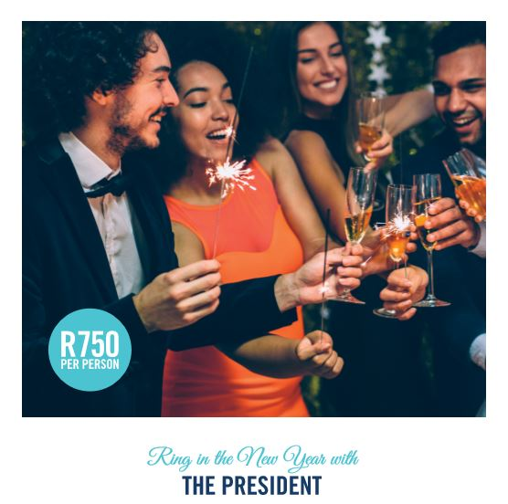 DINE AND DANCE INTO 2018 AT THE PRESIDENT HOTEL