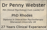 Dr Penny Webster – Clinical Psychologist