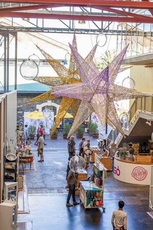 Fun, festive experience at the V&A Waterfront's Watershed