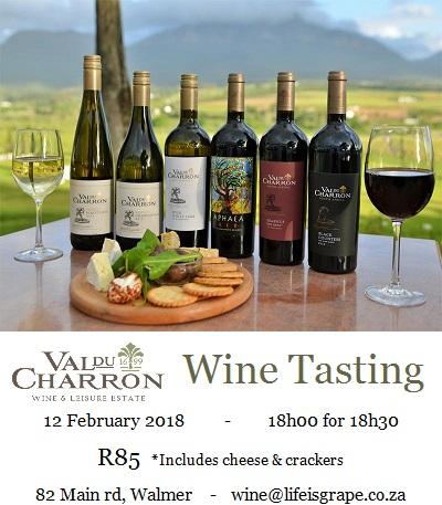 Val Du Charonne Wine Tasting
