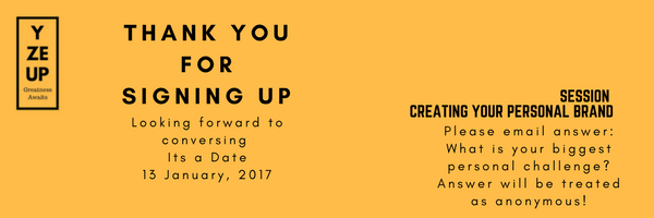 Creating a Personal Brand in Johannesburg
