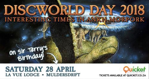Discworld Day 2018 - Interesting Times in Ankh-Morpork