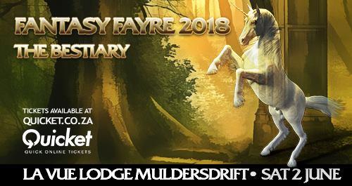 Fantasy Fayre 2018 - The Bestiary