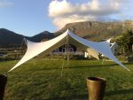 small stretch tents