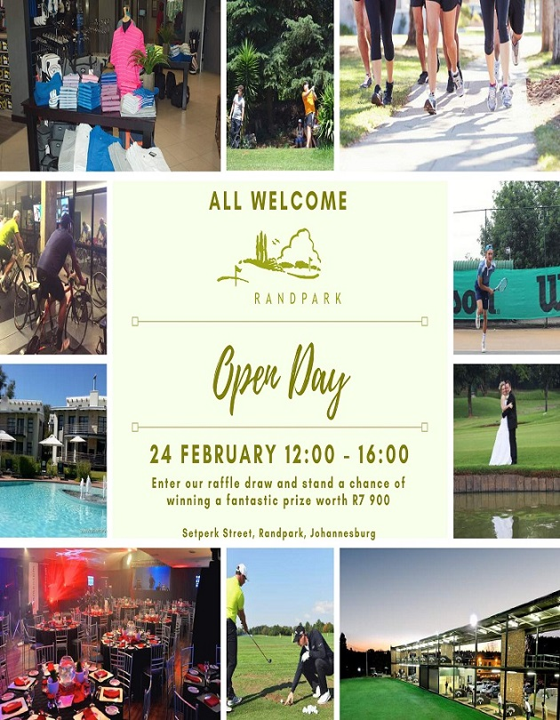 Open Day at Randpark Club