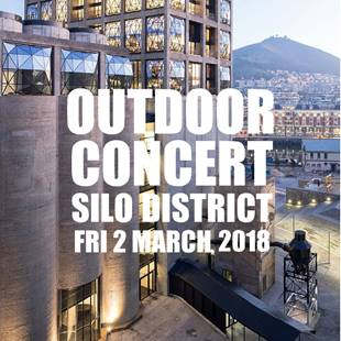 Free sunset concert in the iconic Silo District