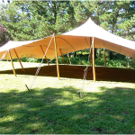 beige stretch tents for sale