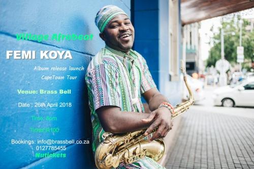 Village Afrobeat Femi Koya live at the Brass Bell