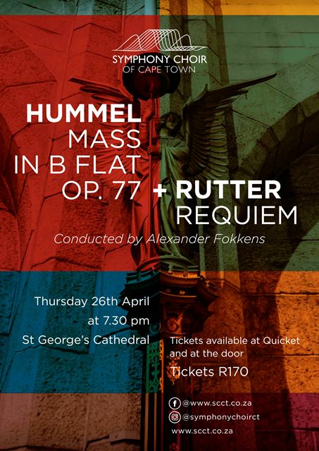Autumn Requiems of two contrasting choral works at St George's Cathedral
