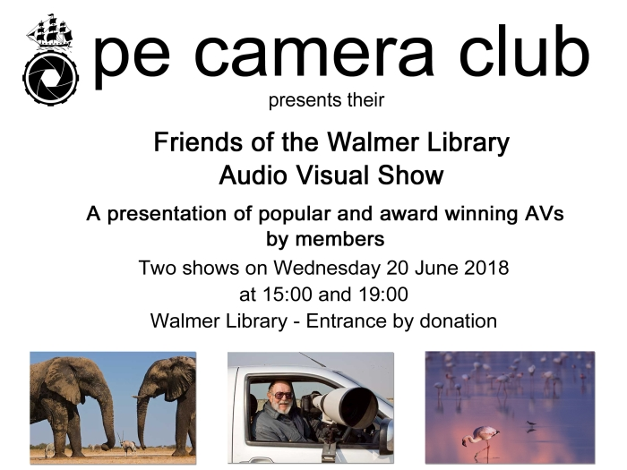 Friends of the Walmer Library AV show
