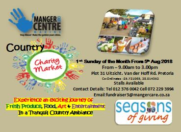 Manger Country Charity Market with Fresh Produce, Food, Art, Craft & Entertainment