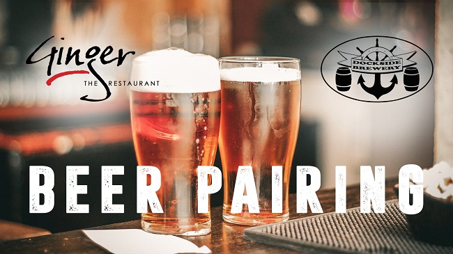 Beer Pairing at Ginger The Restaurant