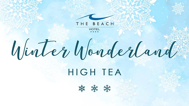 Winter Wonderland High Tea at The Beach Hotel