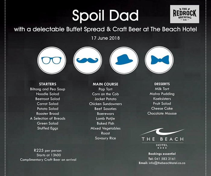 Father's Day Lunch Buffet at The Beach Hotel