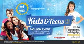 Kids & Teens of the south fashion event