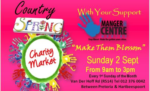 Manger Country Spring Charity Market with Fresh Produce,Food, Art, Craft, & Entertainment
