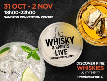 Whisky & Spirits Live Festival - Sandton 2018