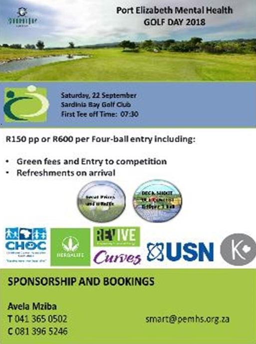 PE Mental Health Fundraiser Golf Day