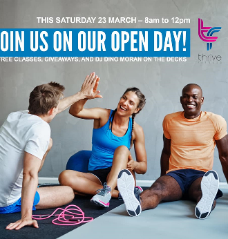 Thrive Fitness Open Day