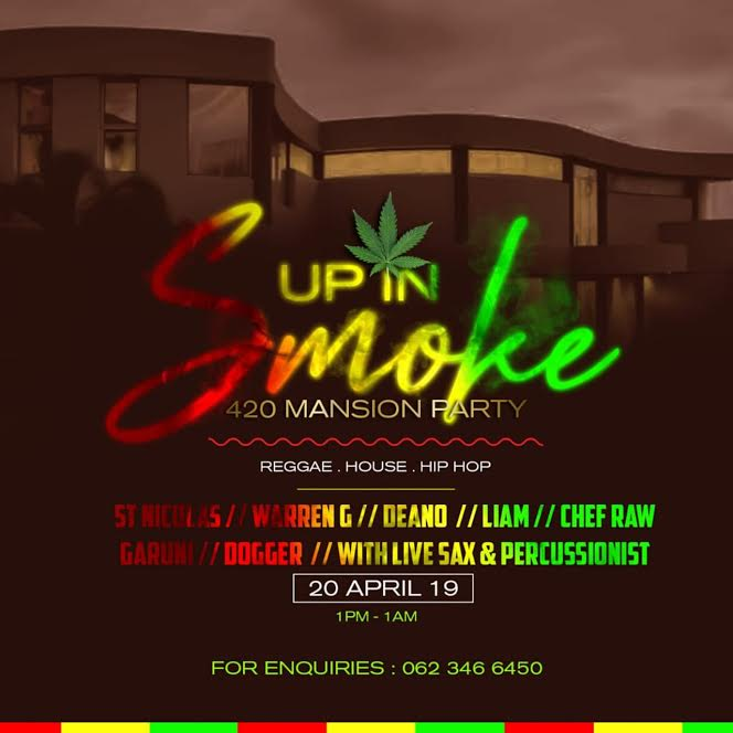 Up In Smoke 420 Mansion House Party