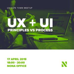 1st UX Cape Town Meetup 17 April 2019