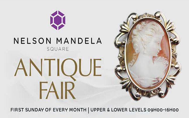 Nelson Mandela Square Antique Fair
