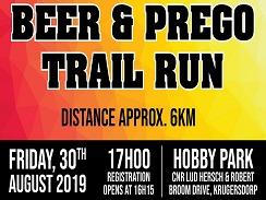 Beer & Prego Trail Run