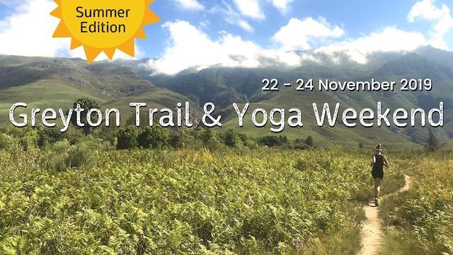 Greyton Trail & Yoga Weekend – Summer Edition