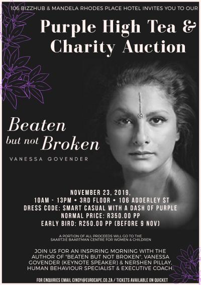 Purple High Tea & Charity Auction