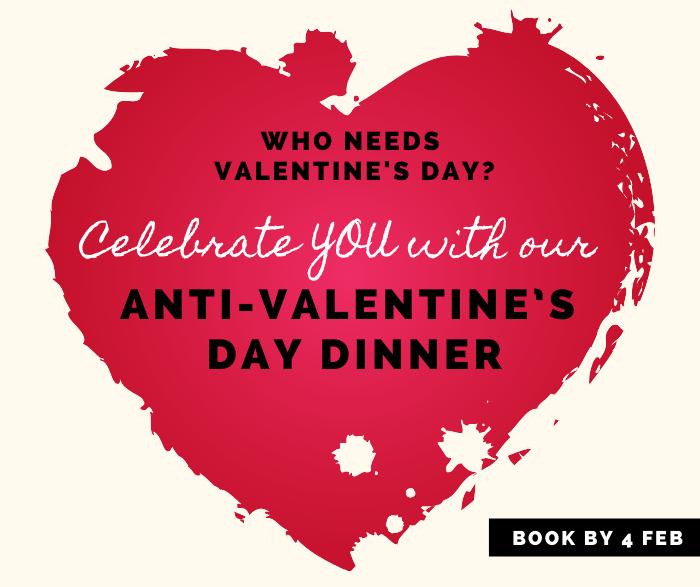 Anti-Valentine\'s Day Dinner