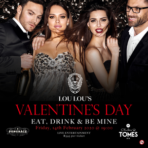 Flirty Valentine's with three-course dinner at Lou Lou's
