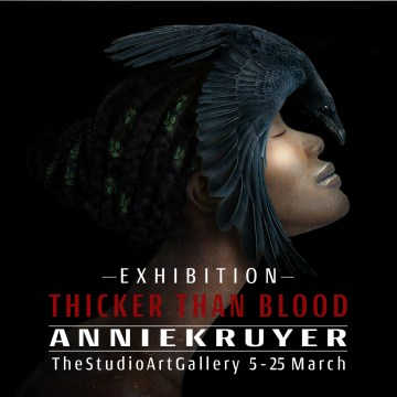 Thicker Than Blood - a solo exhibition by Annie Kruyer